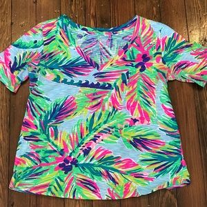 Lilly Pulitzer V-neck Shirt!